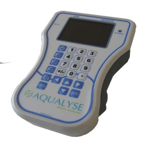 Display mobile PORTASONIC for DEBISONIC flowmeter